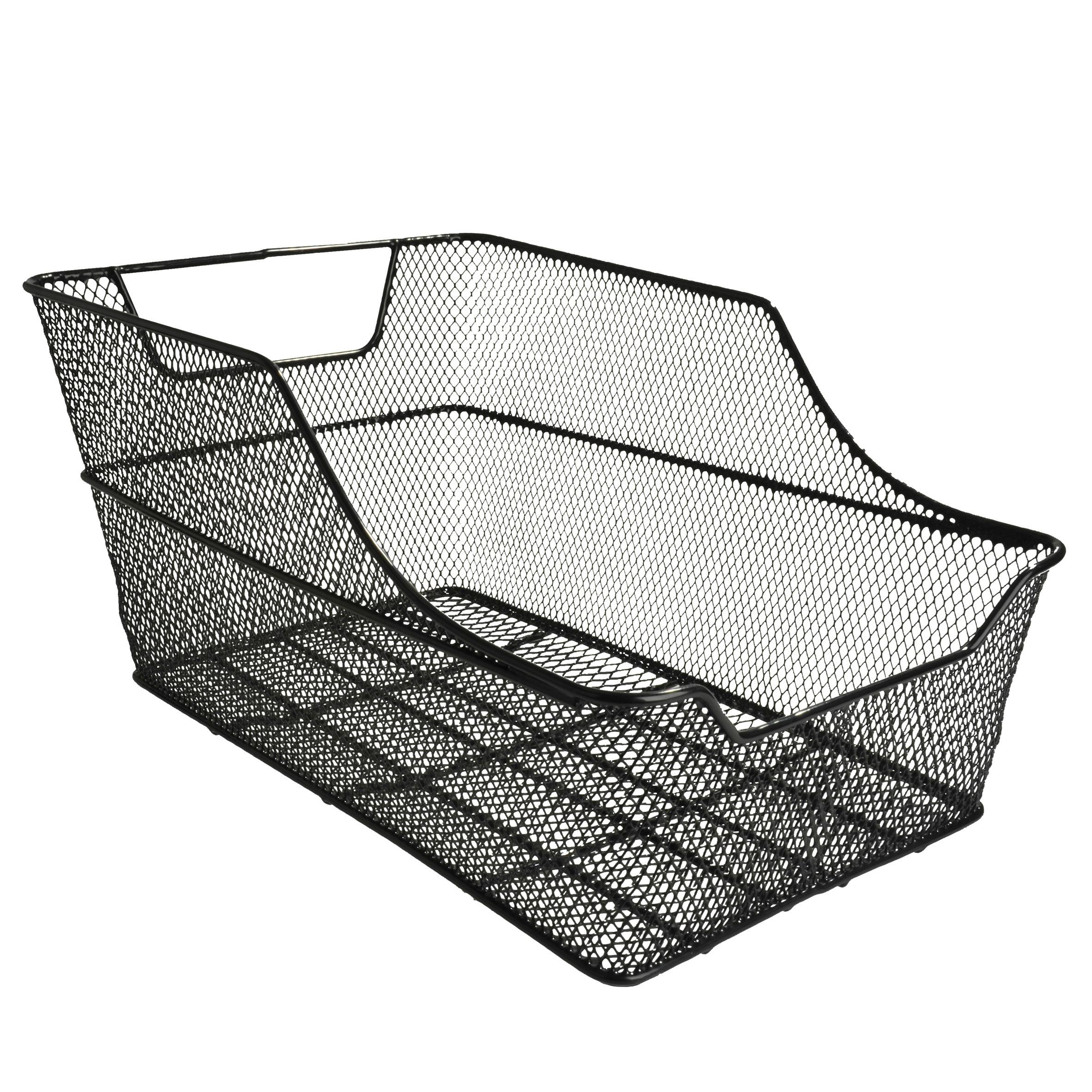 B-Ware Fischer Fahrradkorb / Korb Schultasche für Gepäckträger Bild 1