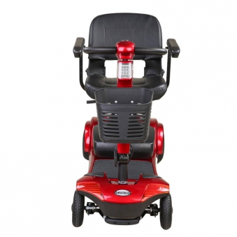 B-Ware Senioren - Elektromobil Senioren Mobilitätshilfe Komfort 6 rot Bild 4