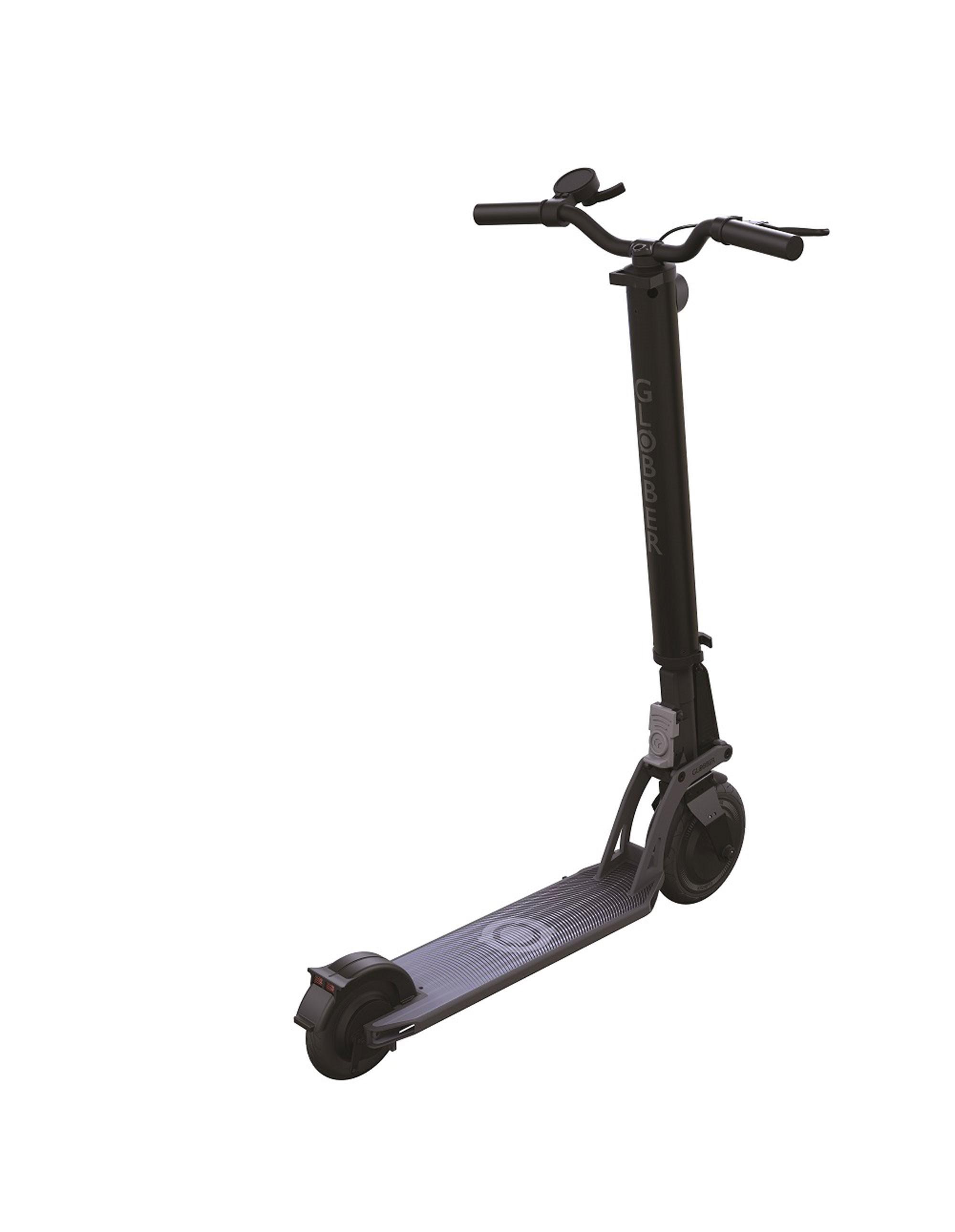 E-Scooter / Elektro Cityroller Globber One K E-Motion kohlegrau Bild 1