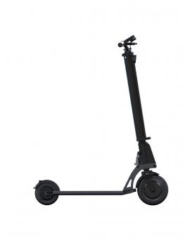E-Scooter / Elektro Cityroller Globber One K E-Motion kohlegrau Bild 2