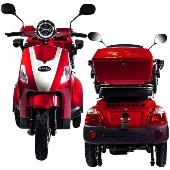 Rolektro Seniorenmobil 1000/30 Elektromobil / Trike rot Bild 1