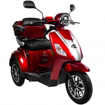 Rolektro Seniorenmobil 1000/30 Elektromobil / Trike rot Bild 2
