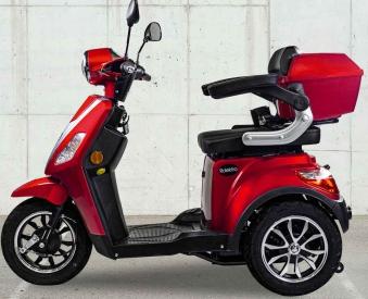 Rolektro Seniorenmobil 1000/30 Elektromobil / Trike rot Bild 4