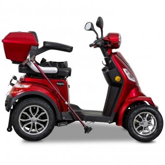 Seniorenmobil Elektromobil 15KM/H rot Rolektro Quad 15 V3LI Bild 4