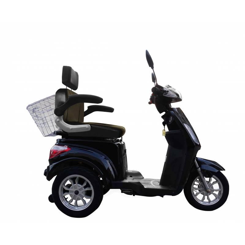 Seniorenmobil Elektromobil E-Trike Vita 25B schwarz Bild 5