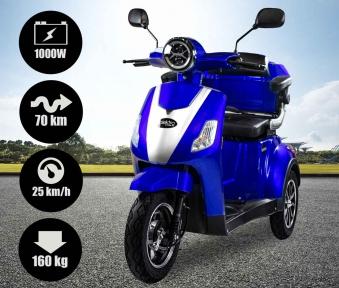 Seniorenmobil, Elektromobil, Elektrodreirad Rolektro 1000/30 blau Bild 2