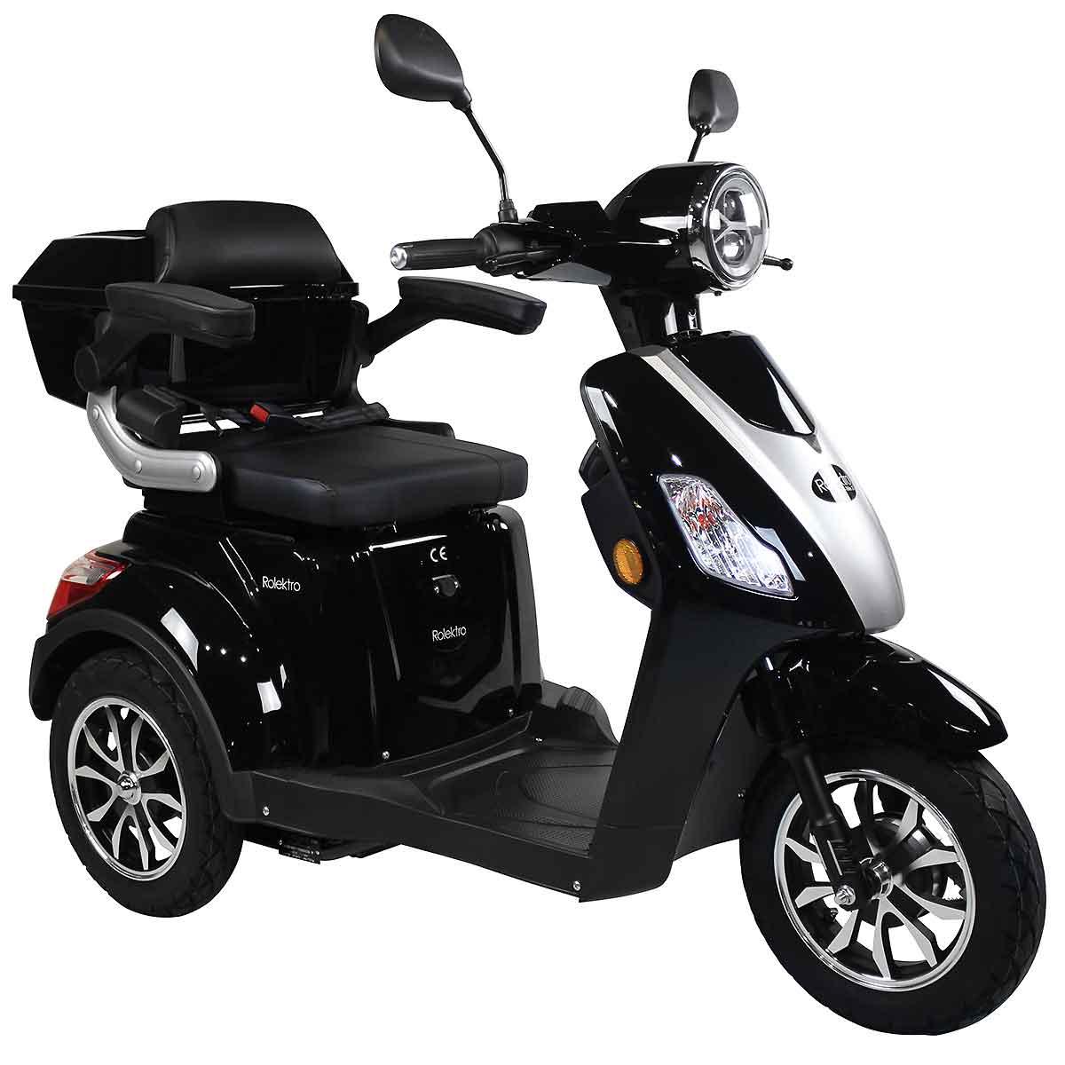 Seniorenmobil, Elektromobil, Elektrodreirad Rolektro 1000/30 schwarz Bild 1