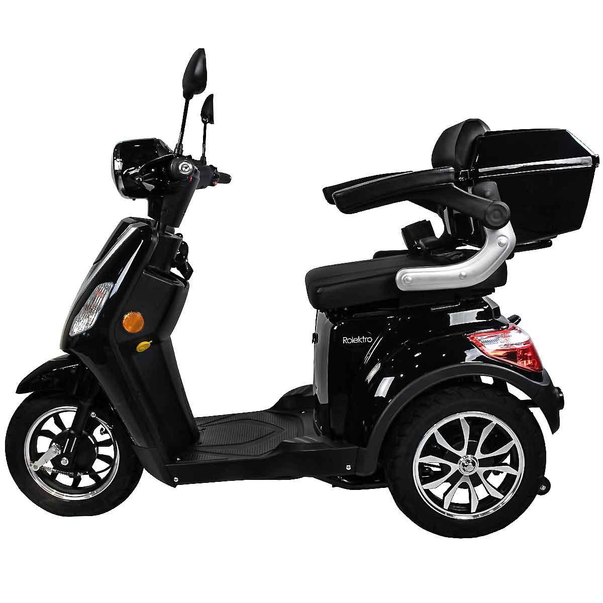 Seniorenmobil, Elektromobil, Elektrodreirad Rolektro 1000/30 schwarz Bild 2