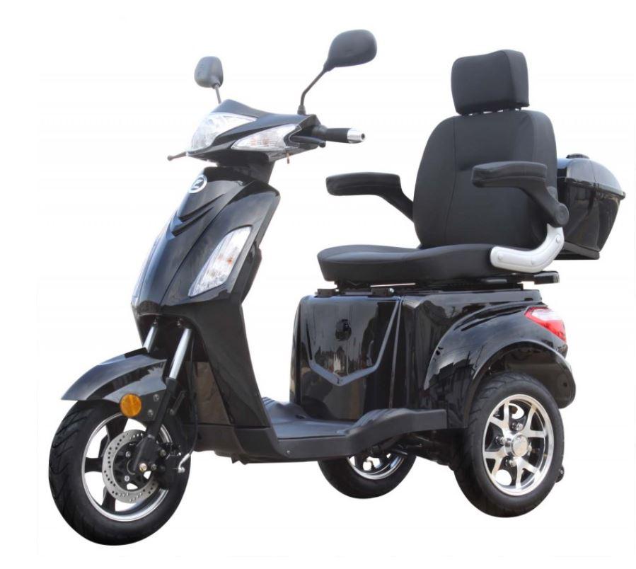 Seniorenmobil Elektromobil Elektromofa Vitale 25 schwarz Bild 1