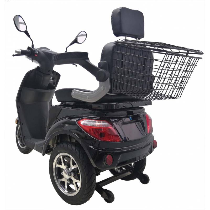 Seniorenmobil Elektromobil Elektromofa Vitale 25 schwarz Bild 4