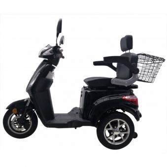 Seniorenmobil Elektromobil Elektromofa Vitale 25 schwarz Bild 6
