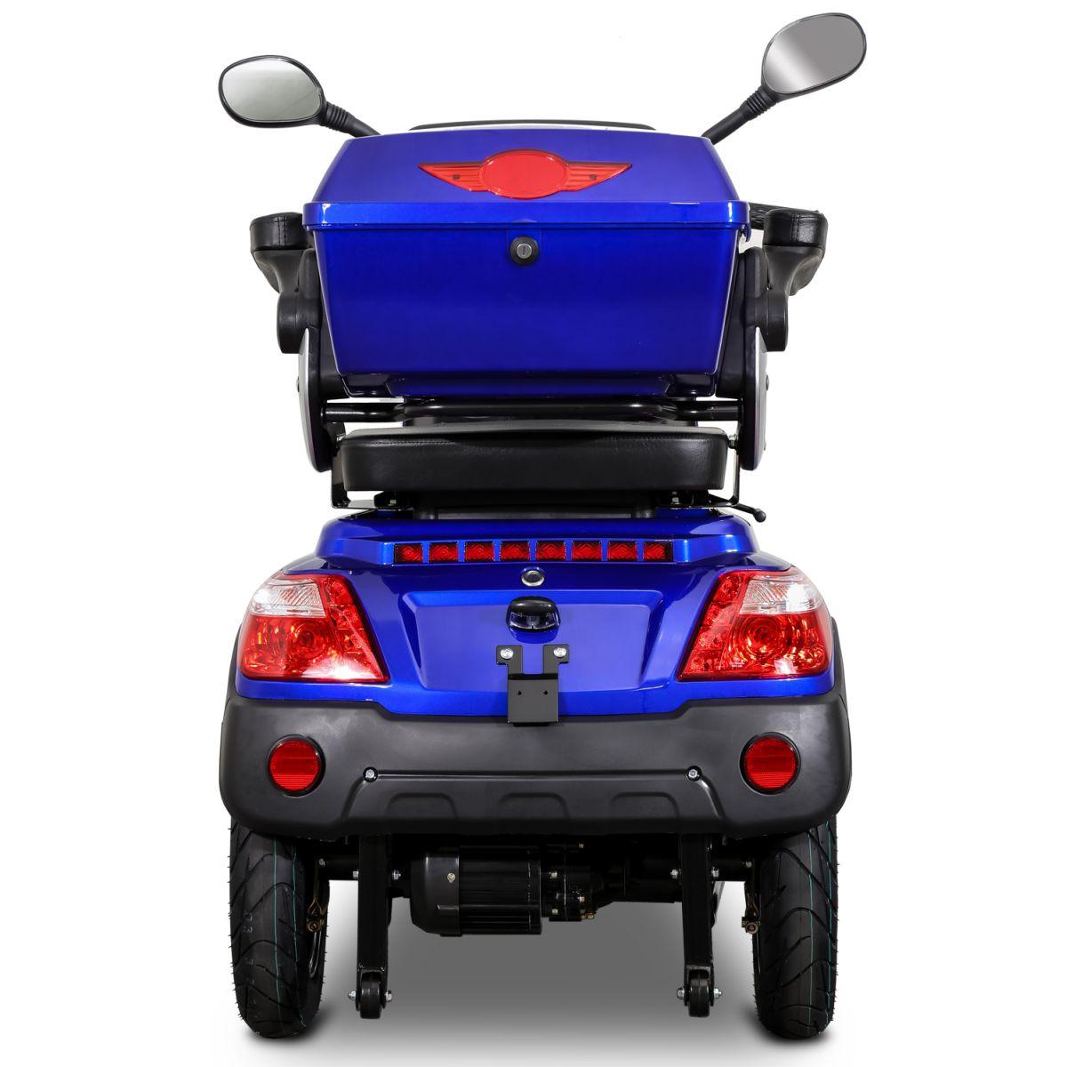 Seniorenmobil Elektromobil Elektroroller Rolektro Quad 25BG blau Bild 5