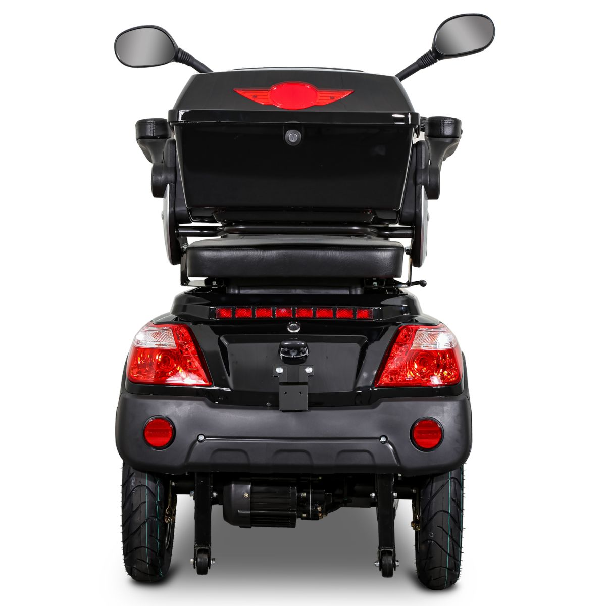 Seniorenmobil Elektromobil Elektroroller Rolektro Quad 25BG schwarz Bild 5