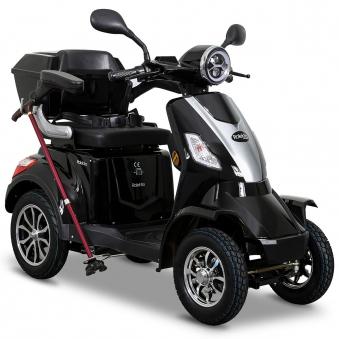 Seniorenmobil Elektromobil Elektroroller Rolektro Quad 25BG schwarz Bild 1