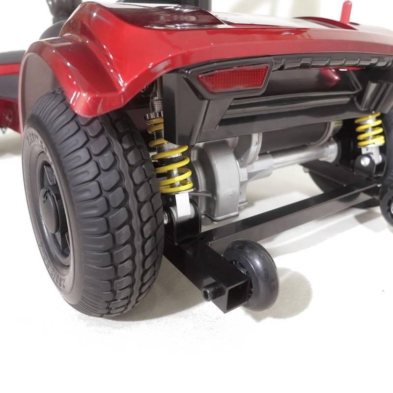 Seniorenmobil Elektromobil Senioren Mobilitätshilfe Komfort 6 rot Bild 2