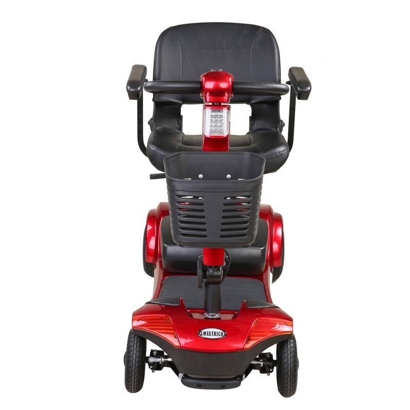Seniorenmobil Elektromobil Senioren Mobilitätshilfe Komfort 6 rot Bild 4