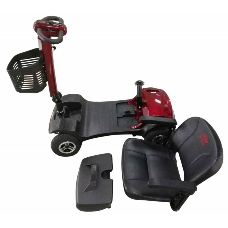 Seniorenmobil Elektromobil Senioren Mobilitätshilfe Komfort 6 rot Bild 7