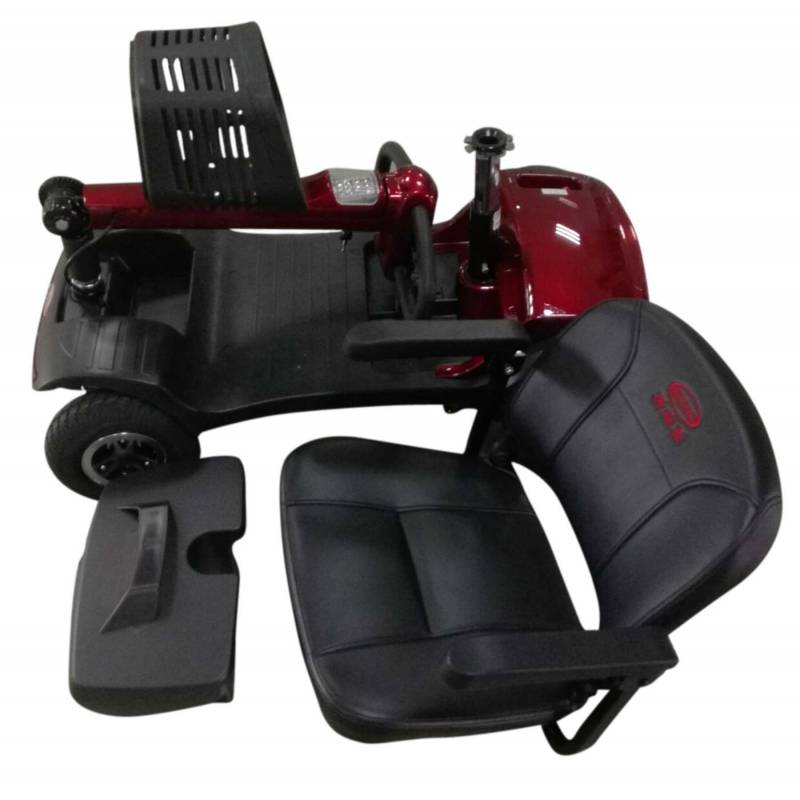 Seniorenmobil Elektromobil Senioren Mobilitätshilfe Komfort 6 rot Bild 8