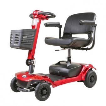 Seniorenmobil Elektromobil Senioren Mobilitätshilfe Komfort 6 rot Bild 1