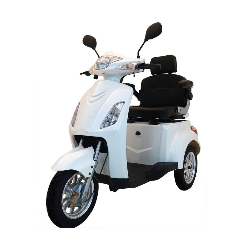 Seniorenmobil Elektromobil Seniorenscooter Gino 25 weiß Bild 1