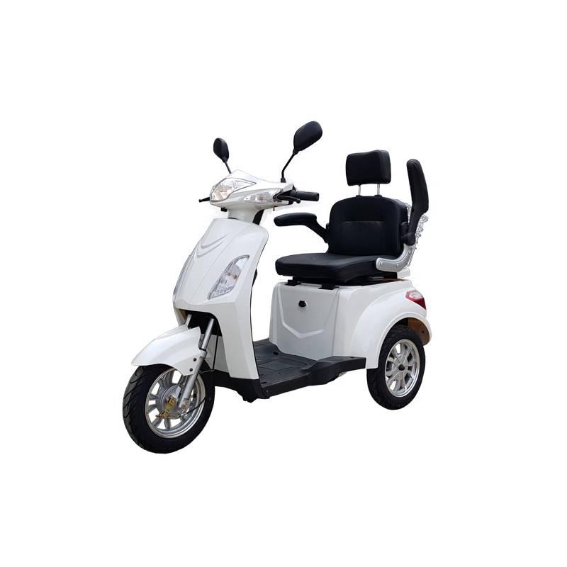 Seniorenmobil Elektromobil Seniorenscooter Gino 25 weiß Bild 5