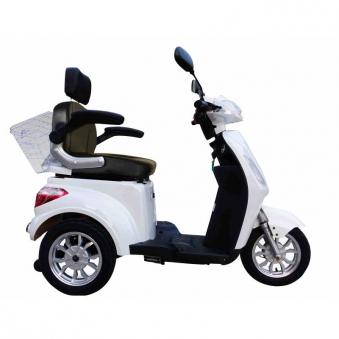 Seniorenmobil Elektromobil Seniorenscooter Gino 25 weiß Bild 4