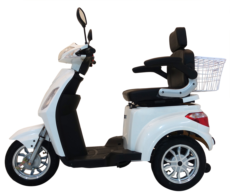 Seniorenmobil Elektromobil Vitale 25 weiss Lithium Bild 3