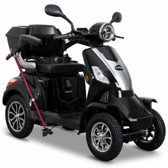 Seniorenmobil Elektroroller Lithium Rolektro E-Quad V3. 25Km/h schwarz Bild 1