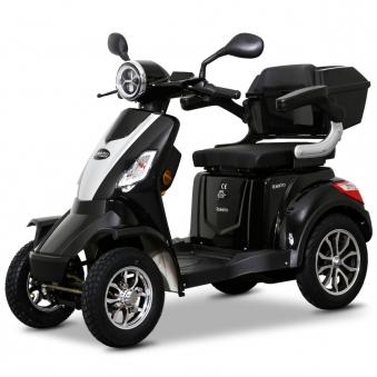 Seniorenmobil Elektroroller Lithium Rolektro E-Quad V3. 25Km/h schwarz Bild 2
