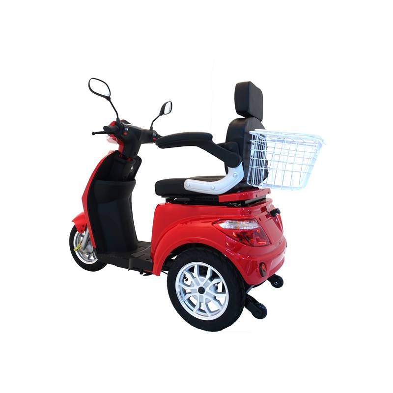 Seniorenmobil Seniorenscooter Elektromobil Elektromoped Gino 25 rot Bild 4