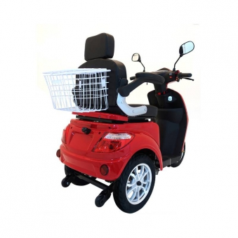 Seniorenmobil Seniorenscooter Elektromobil Elektromoped Gino 25 rot Bild 3