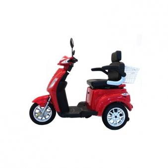 Seniorenmobil Seniorenscooter Elektromobil Elektromoped Gino 25 rot Bild 5