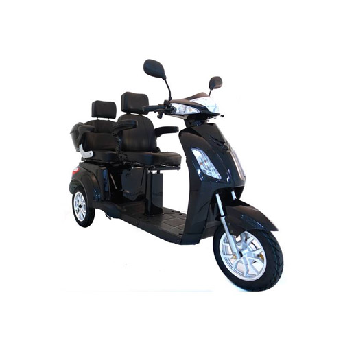 Seniorenmobil VITA CARE 2000 SCHWARZ Elektromobil für 2 Personen Bild 1