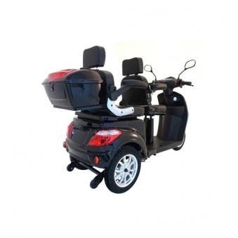 Seniorenmobil VITA CARE 2000 SCHWARZ Elektromobil für 2 Personen Bild 2