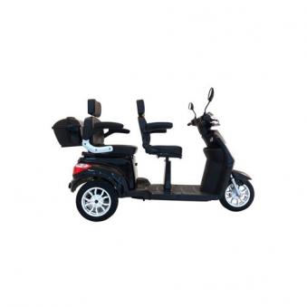 Seniorenmobil VITA CARE 2000 SCHWARZ Elektromobil für 2 Personen Bild 3
