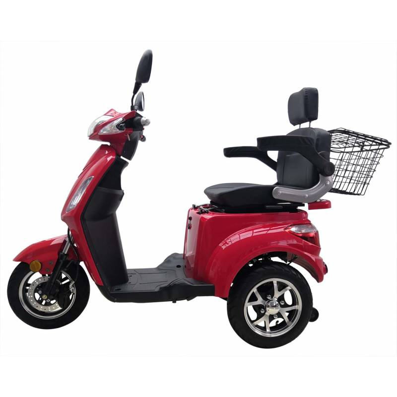 Vitale 25 Lith Seniorenmobil Elektromobil Elektroroller Trike rot Bild 4