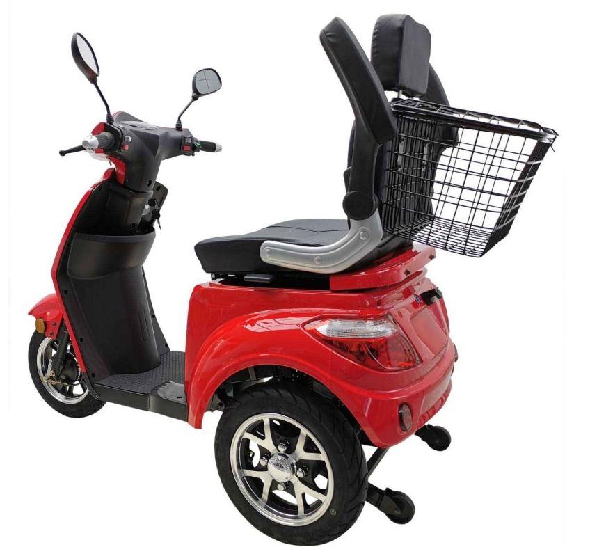 Vitale 25 Lith Seniorenmobil Elektromobil Elektroroller Trike rot Bild 6