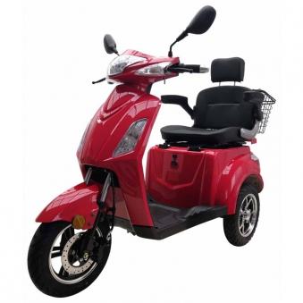 Vitale 25 Lith Seniorenmobil Elektromobil Elektroroller Trike rot Bild 1