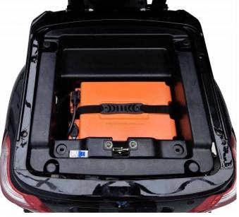 Vitale 25 Lith Seniorenmobil Elektromobil Elektroroller Trike rot Bild 5