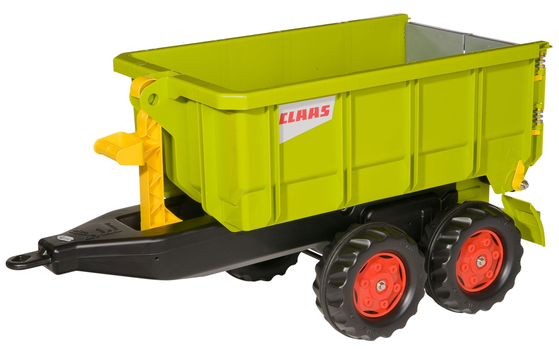 Anhänger für Tretfahrzeug rolly Container Claas grün - Rolly Toys Bild 1