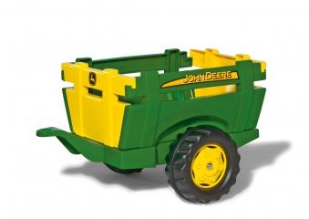 Anhänger für Tretfahrzeug rolly Farm Trailer John Deere - Rolly Toys Bild 1