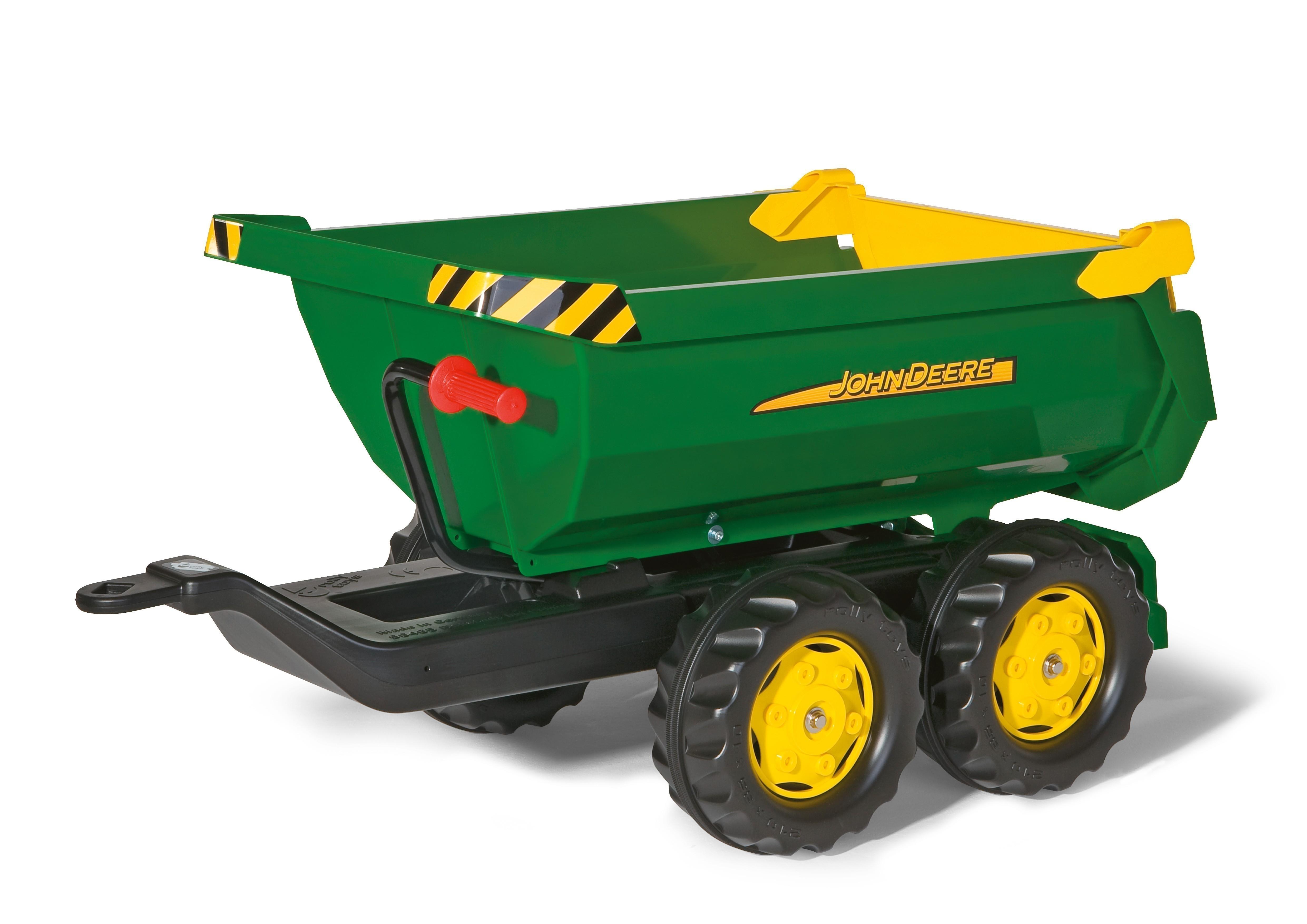 Anhänger für Tretfahrzeug rolly Halfpipe John Deere - Rolly Toys Bild 1