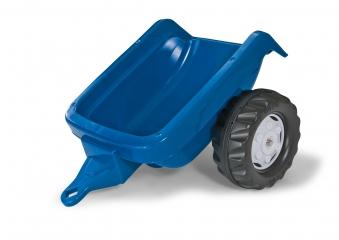 Anhänger für Tretfahrzeug rolly Kid Trailer blau - Rolly Toys Bild 1