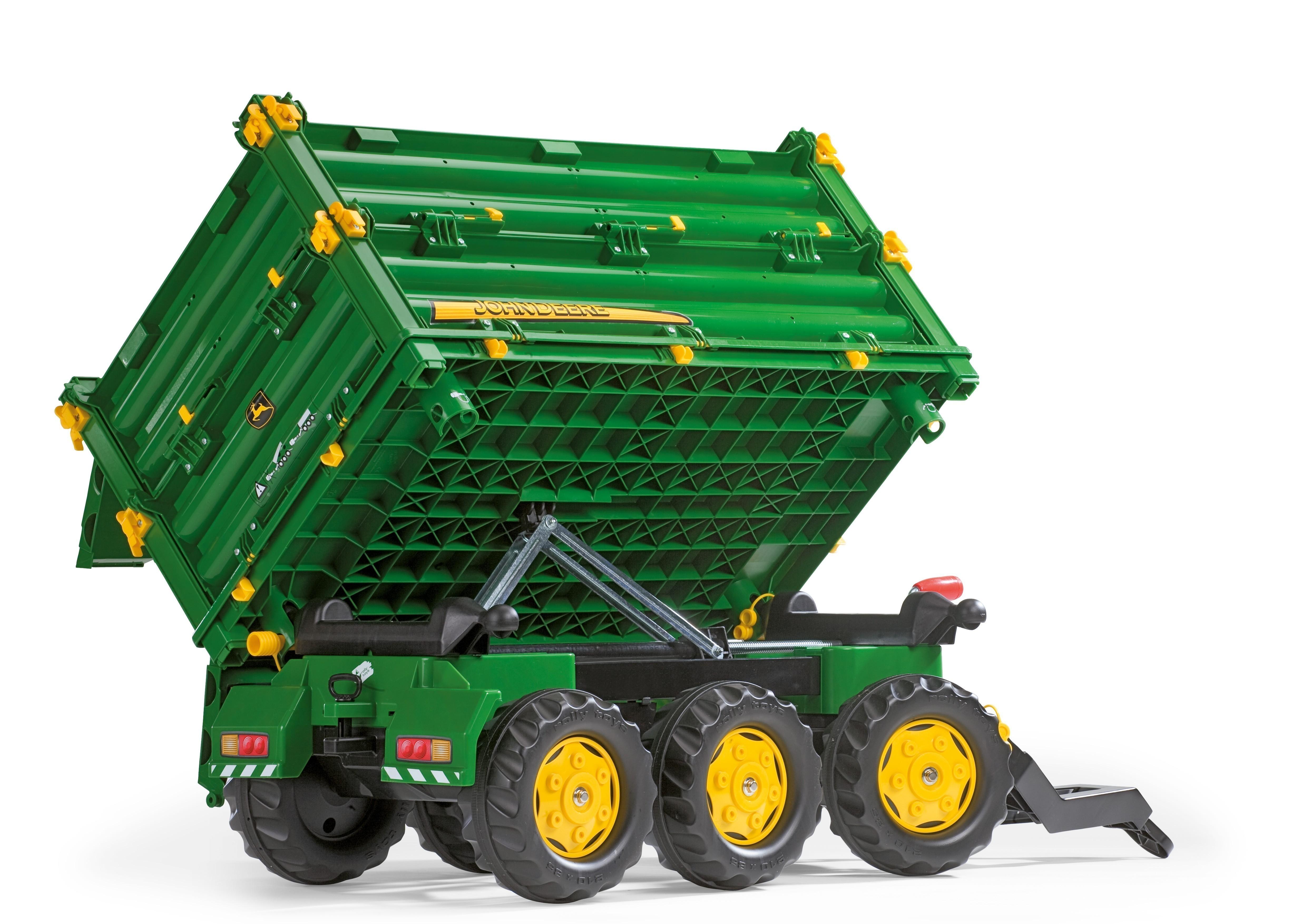 Anhänger für Tretfahrzeug rolly Multi Trailer John Deere - Rolly Toys Bild 4