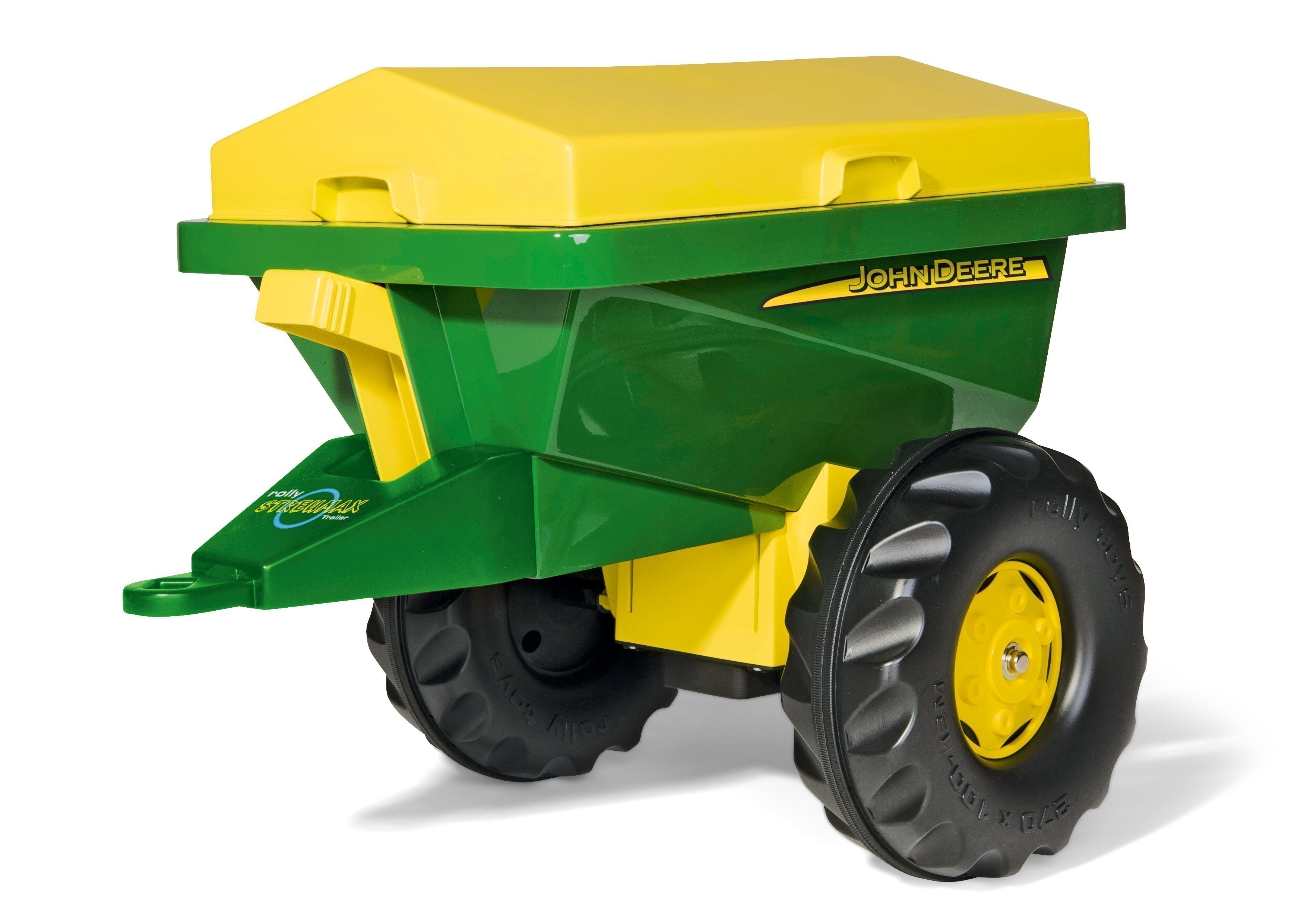 Anhänger für Tretfahrzeug rolly Streumax John Deere - Rolly Toys Bild 1