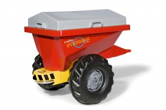 Anhänger für Tretfahrzeug rolly Streumax rot - Rolly Toys Bild 2