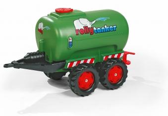Anhänger für Tretfahrzeug rolly Tanker Fendt-grün - Rolly Toys Bild 1