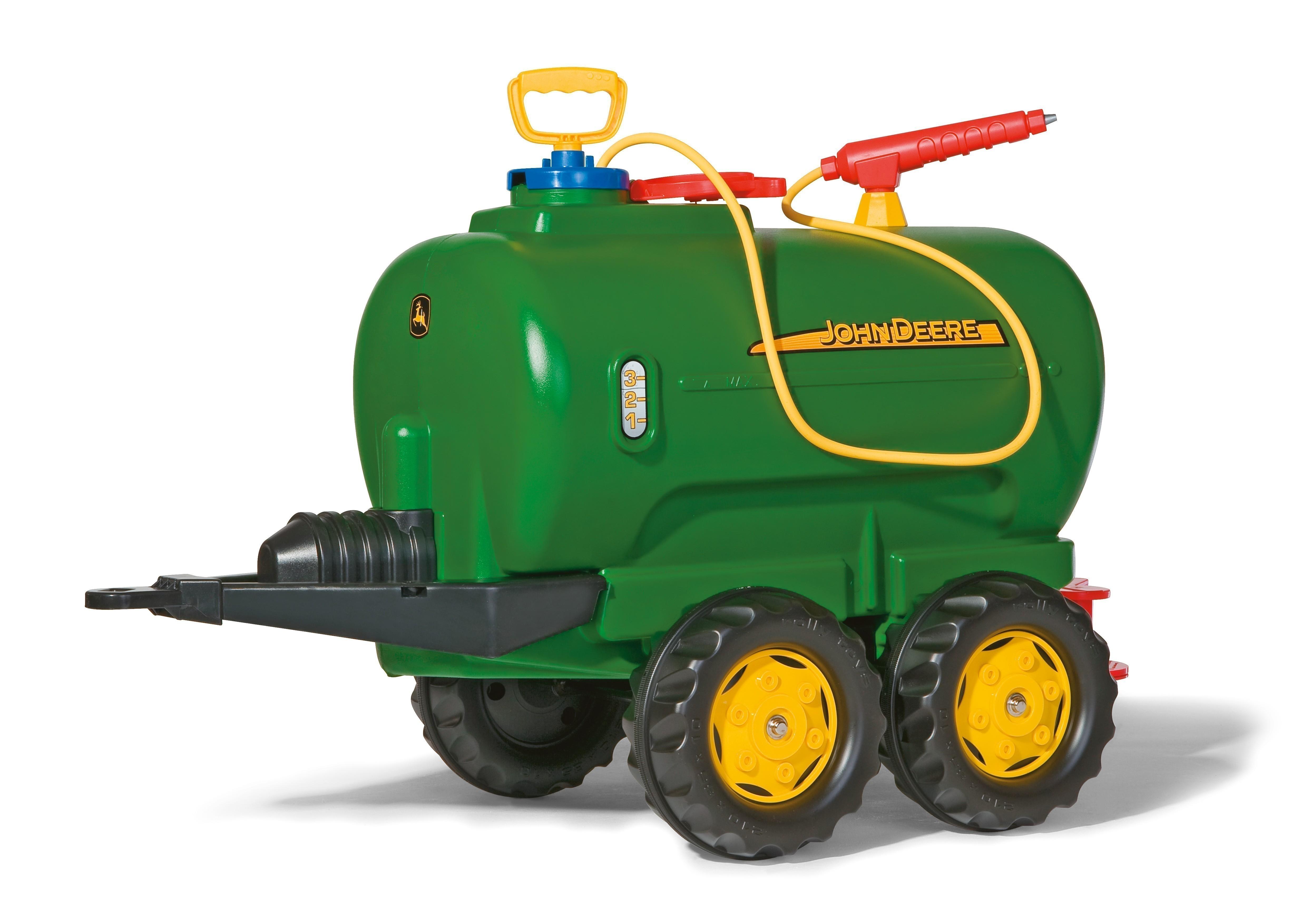 Anhänger für Tretfahrzeug rolly Tanker John Deere - Rolly Toys Bild 1