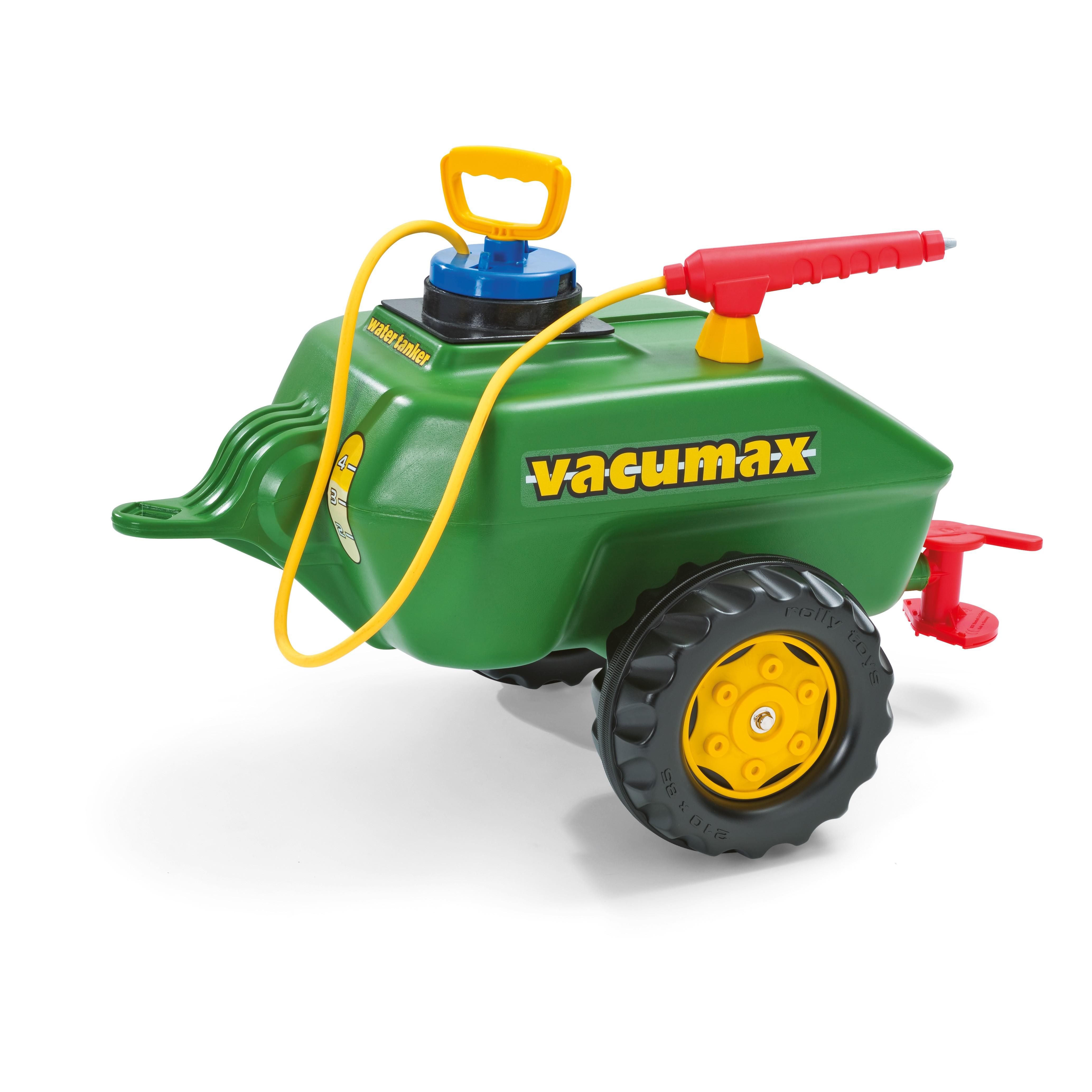 Anhänger für Tretfahrzeug rolly Vacumax - Rolly Toys Bild 1