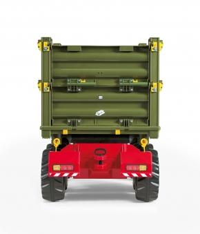 Anhänger für Tretfahrzeuge rolly Multi Trailer grün - Rolly Toys Bild 2